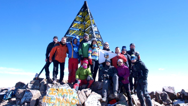 Peak of the Toubkal (marroc) 2016